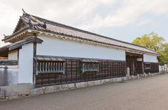 Gate of former Oishi residence in Ako Castle, Ako, Japan Royalty Free Stock Image