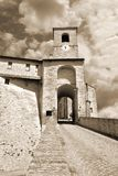 Gate of the fortress Royalty Free Stock Image