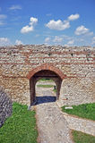 Gate of fortress Stock Image