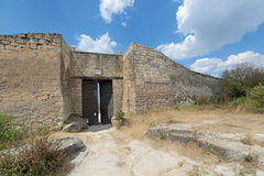 The gate of the fortress Royalty Free Stock Images