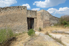The gate of the fortress Stock Image