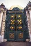 Gate of Galatasaray High School, Istanbul Royalty Free Stock Photography