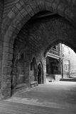 gate gammalt Arkivbild