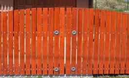 Gate garage Stock Photo