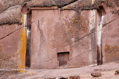 Gate Of The Gods - Peru Royalty Free Stock Photos