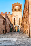 The gate of Gradara Royalty Free Stock Images
