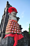 Gate Guardian Statue in Bali Stock Images