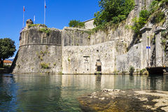 Gate Gurdich of fortress in a kotor, Montenegro Royalty Free Stock Image