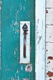 Gate handle Royalty Free Stock Images