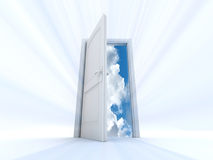 Gate of heaven Royalty Free Stock Images