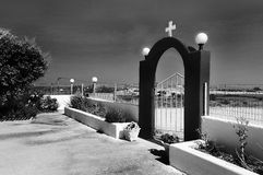 Gate of Heaven. Beautiful church on the way to the beach Stock Photography