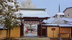 The Gate of Hida Kokubunji Temple Stock Images