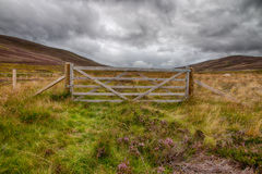 Gate in the Highlands HDR Stock Photo