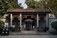 Gate of hinese garden Stock Images