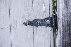 Gate Hinge Royalty Free Stock Images