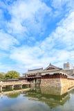 Gate of Hiroshima castle in Hiroshima Prefecture, Chugoku region. Japan stock photos