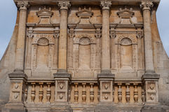 Gate of Honour, Cambridge. Ornaments above the Gate of Honour, Gonville and Caius College, Cambridge Stock Photos