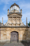 Gate of Honour. At Gonville and Caius college, university of Cambridge, England Stock Photo