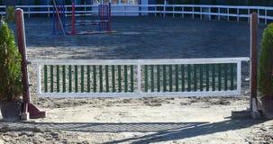 Gate for horses terrain outdoor Stock Photos