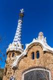 Gate House - Park Guell, Barcelona, Spain. Gate House - Park Guell, Barcelona, Catalonia, Spain, Europe Stock Photos