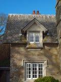 Gate House Penrose Estate. Detail of the gatehouse on the Penrose estate near Helston in Cornwall Stock Photos