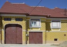 Gate house Sibiu Stock Photo