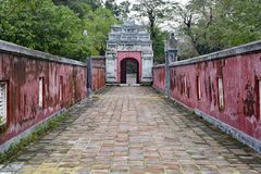 Gate in Hue Imperial City Royalty Free Stock Photography