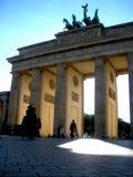 Gate_I Бранденбурга Стоковые Изображения