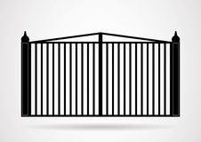 Gate icon illustration. Stock Photos