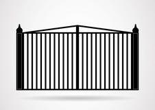 Gate icon illustration. Vector EPS10 Stock Photos