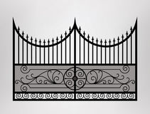 Gate icon. Stock Photo