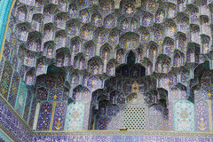 Gate of Imam Mosque, Naqsh-e Jahan Square Royalty Free Stock Photos