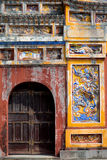 Gate within the Imperial City, Hue, Vietnam Stock Photos