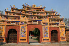 Gate - Imperial City - Hue - Vietnam Stock Images