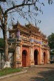 Gate - Imperial city - Hue - Vietnam Stock Photo