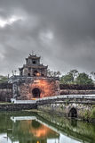 Gate within the Imperial City Royalty Free Stock Image
