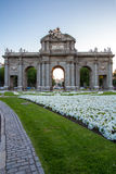 Gate at Independence Square Madrid Spain Royalty Free Stock Photography