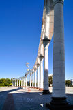 Gate of the Independence Square in Tashkent Royalty Free Stock Images