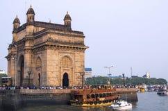 Gate of India in Mumbai Royalty Free Stock Images