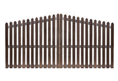 Gate, isolated over white stock photo