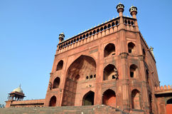 Gate of Jama Masjid Royalty Free Stock Photo