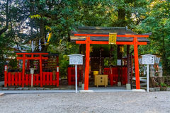A gate of Japanese shrine Royalty Free Stock Images