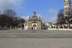 Gate Jasna Gora sanctuary Czestochowa.Poland Royalty Free Stock Photos