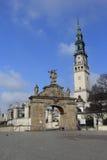 Gate Jasna Gora sanctuary Czestochowa.Poland Royalty Free Stock Photo