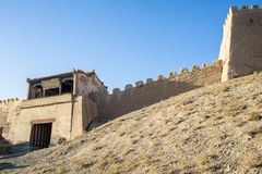 Gate of Jiayuguan castle Royalty Free Stock Image