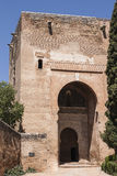 Gate of Justice in Alhambra, Granada, Spain Royalty Free Stock Images