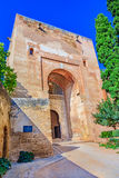 Gate of Justice,Puerta de la Justicia,Alhambra, Granada, Spain, Royalty Free Stock Photography