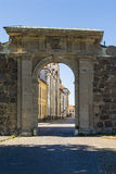 Gate in Kalmar citywall Sweden Royalty Free Stock Photography