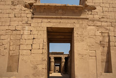 Gate of Karnak Temple, Egypt, Luxor Stock Image