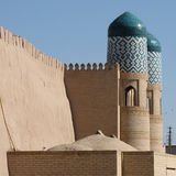 Gate at khiva Stock Photography